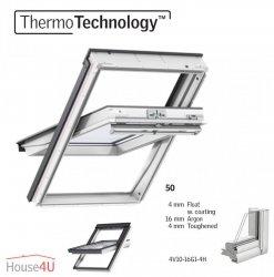 OUTLET: VELUX Dachfenster GGU 0050 FK04 94x118 PK08 1,3 Schwingfenster aus Kunststoff Alternative für THERMO-STAR