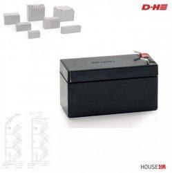 Akku Typ 1 D+H (Einzelpack) für D+H RWA-Zentralen  1,2 Ah.