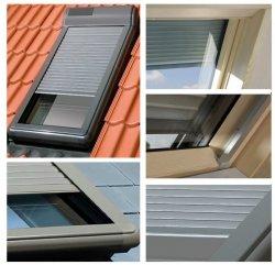 Außenrollladen  Fakro ARZ Solar  Für Dachfenster: FEL, FEP, FEU, FPP, FPT, FPU, FTL, FTP, FTT, FTU, PPP, PTP, TLP – Solar gesteuert