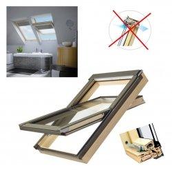 Dachfenster Fakro PTP/PI U3 Schwingfenster MIT ERHÖHTER FEUCHTERESISTENZ ohne Dauerlüftung