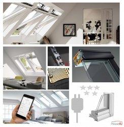 VELUX Elektrofenster VELUX INTEGRA ® Kunststoff  GGU 006021 Elektro THERMO PLUS