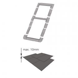 Kombi-Eindeckrahmen keylite BLSRF 1/2 Schiefer(|}1,5 cm)