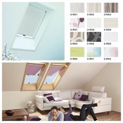 Rollo Roto Exclusiv für Designo Dachfenster R64-R69P/R84-R89P/i85-i89P Preisgruppe 3