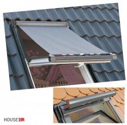 OKPOL Hitzeschutz-Markise AMZ Außenzubehör Markise Anti-Hitze-Markise für OKPOL Dachfenster [Außenmontage Okpol AMZ]