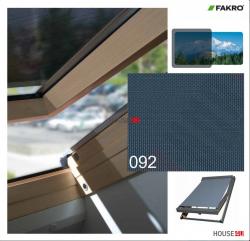 OUTLET: Netzmarkisen Fakro AMZ NewLine 55x98 Markise Manuell Netzmarkisen Fakro AMZ I gruppe: 92 farbe, transparent Anti-Hitze-Markise für FAKRO Dachfenster