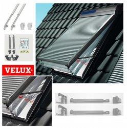 ZOZ 217 Velux Rollladen-Ausstellarm für den Rollladen Velux 2 seitliche Teleskoparme für einen Rollladen