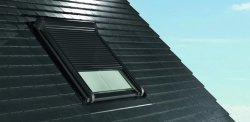 Außenrollladen Roto Designo ZRO SF Solar Rolladen für Dachfenster Roto Designo line