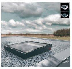 Flachdach-Fenster FAKRO Elektrisches  DEZ-A TYP Z Glas mit der Neigung U=0,95 W/m²K * Elektrisch Gesteuert  NEU 2019