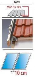 Kombi Eindeckrahmen 2/1 Oman KUF für profilierte Eindeckmaterialien 0 - 45mm