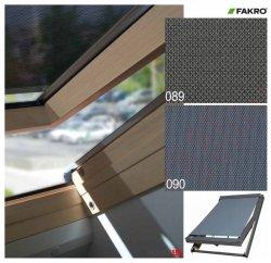 Hitzeschutz Markise Manuell Netzmarkisen Fakro AMZ I gruppe: 89 90 farbe, transparent Anti-Hitze-Markise für FAKRO Dachfenster