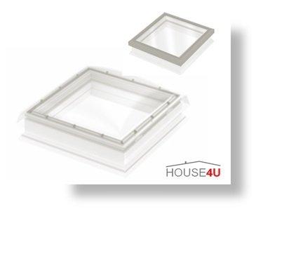 Festverglastes Flachdach-Fenster