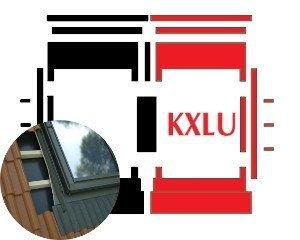 Kombi-Eindeckrahmen Okpol KXLH für flache hochprofilierte eindeckmaterialen www.house-4u.eu