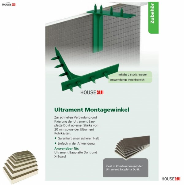 Montagewinkel Ultrament Do-it