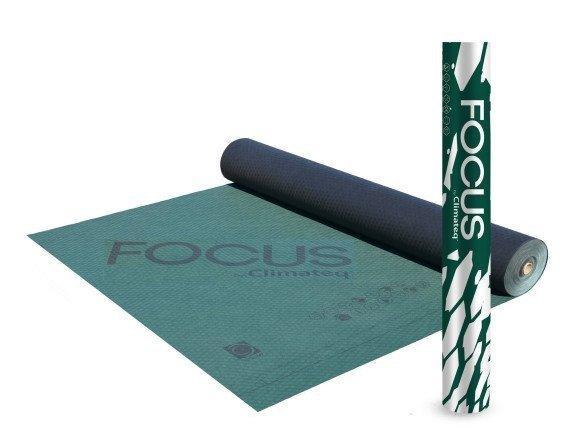 210g Wabis Membrane Climateq PRO 210 FOCUS 210g/m² Reißkraft  490/290 Sd 0,015 -40/+120°C Unterspannbahn Hochdiffusionsoffen (75m²)