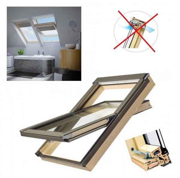 Dachfenster Fakro PTP/PI U3 Schwingfenster MIT ERHÖHTER FEUCHTERESISTENZ ohne Dauerlüftung www.house-4u.eu