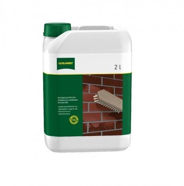 Klinkerreiniger Ultrament 2 L Kalkstein Ausblühungen harten Sediment Zement www.house-4u.eu