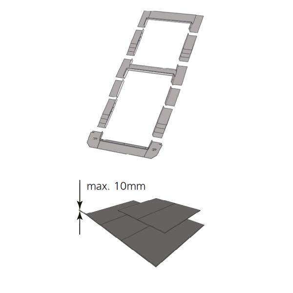 Kombi-Eindeckrahmen keylite BLSRF Schiefer(|}1,5 cm) www.house-4u.de