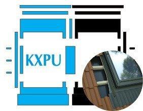 Kombi-Eindeckrahmen Okpol KXPH für flache hochprofilierte eindeckmaterialen www.house-4u.eu