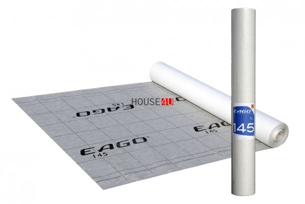 145g Wabis Membrane EAGO 145 145g/m² Reißkraft 260/160 Sd 0,02 -40/+120°C (75m²) www.house-4u.eu