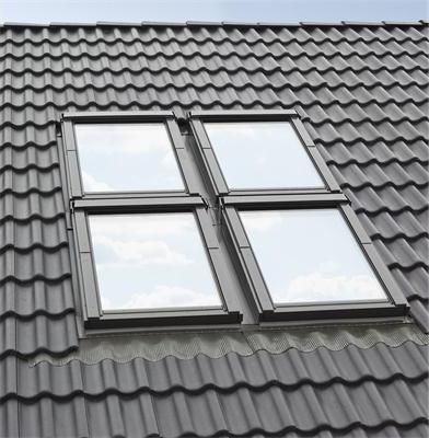 Kombi-Eindeckrahmensystem Fakro KZV B2/2 für profilierte Eindeckmaterialien www.house-4u.eu