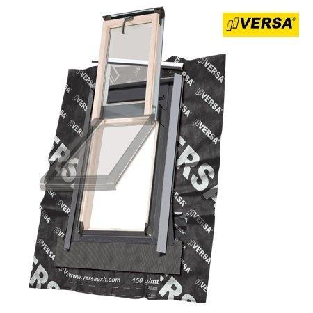 Dachluken Okpol ISW+ E2 55×78 für Nutzräume Uw=1,2 Dachausstiegsfenster aus Holz SOLID+ - Ausstiegsfenster - Dachausstieg - Dachluke - Dachfenster