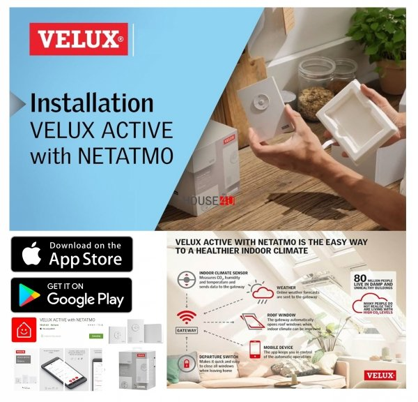 Werbepaket Velux SSLx2 + KIX Außenrollladen Aluminium INTEGRA® Solar- Rollladen Dunkelgrau