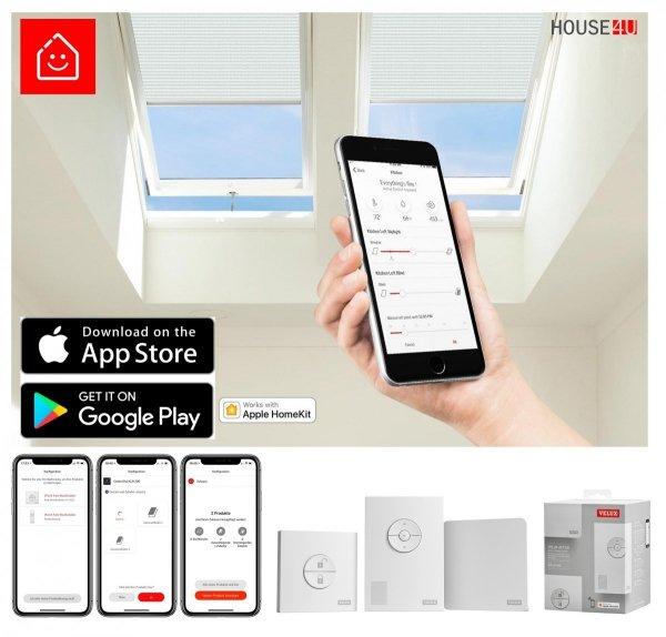VELUX Dachfenster Solarfenster INTEGRA ® Kunststoff GGU 006630 ENERGIE PLUS www.house-4u.de