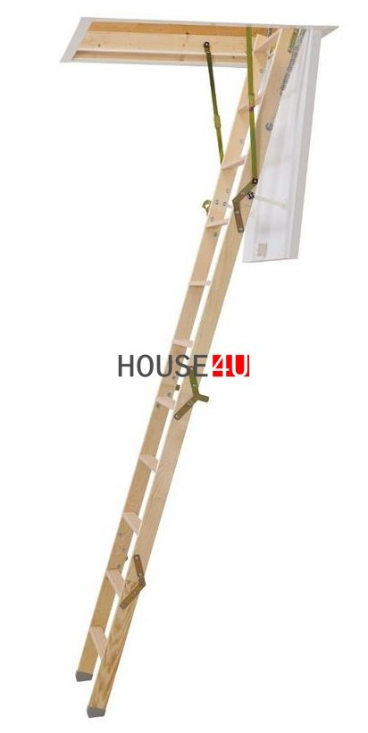 OUTLET: Bodentreppe Dolle CLICKFIX 36 GOLD 60x120 Holz  U = 0,99 W/m2 K