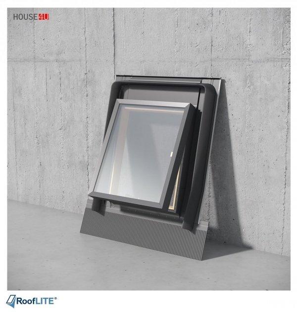 Ausstiegsfenster Rooflite 45x73 - 45x55 - 48x90 Skylight Fenstro für ungeheizte Räume, Dreh- oder Klappfenster