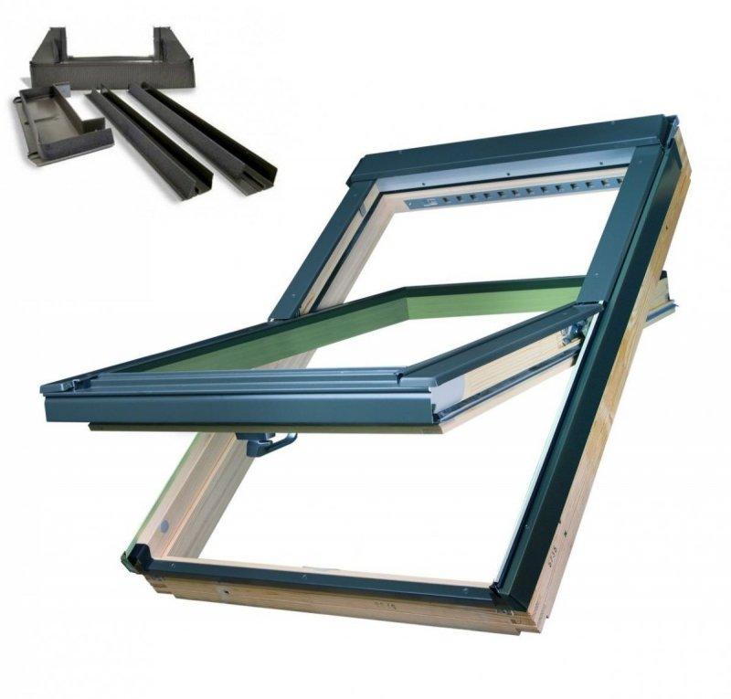 Fakro dachfenster ftp v u4 3 fach verglasung - Dachfenster 3 fach verglasung ...