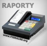 Kasy fiskalne - raporty