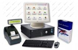 Zestaw: komputer, ekran dotykowy ELO, oprogramowanie Bistro Mini, drukarka fiskalna Thermal FV