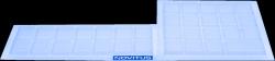 Gumowa pokrywa klawiatury do kasy fiskalnej Sento