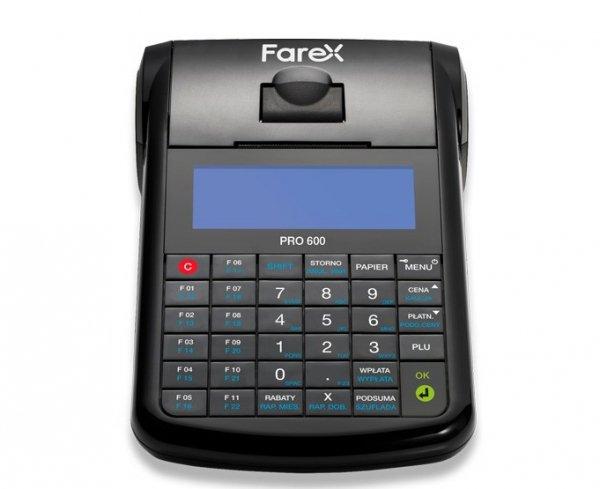 Kasa fiskalna Farex ONline PRO 600 GPRS