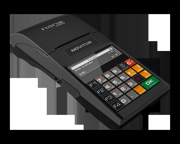 Kasa fiskalna Novitus Nano online + modem GPRS