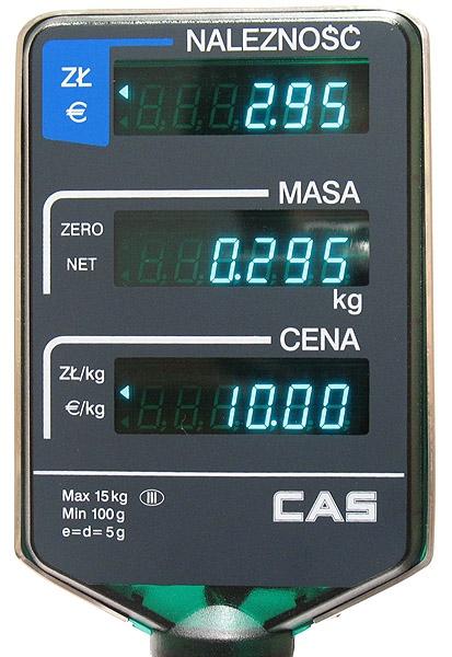 Waga CAS AP-1 15 MX Angel