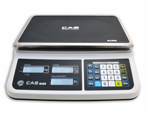 Waga CAS PR-II (PR-2) 15B RS232