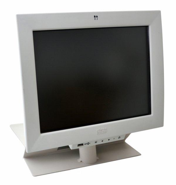"""Monitor Wincor Nixdorf BA82 12,1"""" ze stojakiem (używany)"""