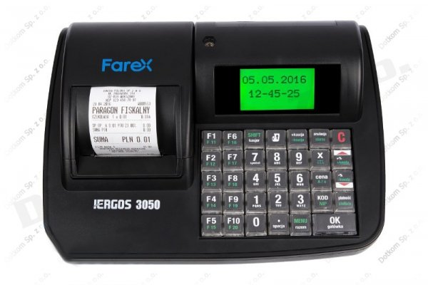 Kasa fiskalna Farex i-Ergos 3050 + serwis GRATIS