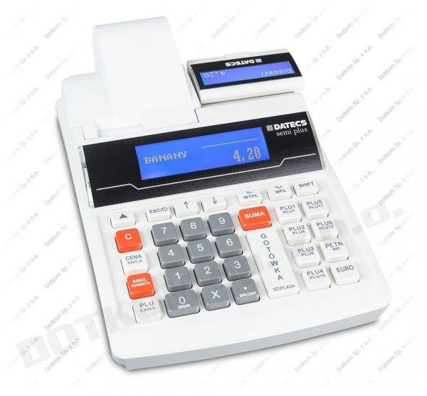 Kasa fiskalna Datecs Semi Plus + serwis gratis