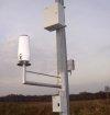 A-Ster TPG-126-H deszczomierz korytkowy rejestrator opadu ogrzewany standardowy nizinny 200 cm2 pluwiometr IMGW