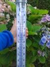 Termometr ogrodowy TFA 12.2057 SOLINO cieczowy zewnętrzny podświetlany bardzo duży 1090 mm