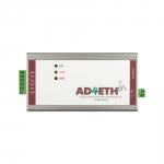 Konwerter, przetwornik analogowo - cyfrowy A/C Papouch AD4ETH analog do Ethernet