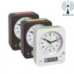 Budzik biurkowy TFA 60.1511 COMBO zegarek wskazówkowy sterowany radiowo