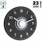 Zegar ścienny TFA 60.3508 POLO wskazówkowy sterowany radiowo 23 cm