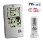 TFA 35.1109 NEO PLUS stacja pogody bezprzewodowa z czujnikiem zewnętrznym błyskawiczna transmisja