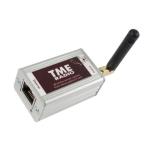 Moduł pomiarowy internetowy Papouch TME Radio bezprzewodowy 868 MHz 100 m do Modbus TCP, Ethernet, LAN, IP