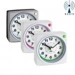 Budzik biurkowy TFA 60.1507 zegarek wskazówkowy sterowany radiowo