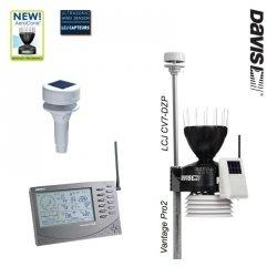 Davis 6152-DZP Vantage Pro2 stacja meteorologiczna bezprzewodowa z wiatromierzem ultradźwiękowym LCJ CV7-DZP