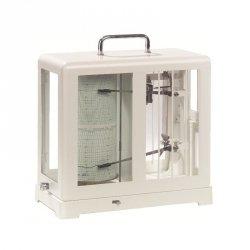 Termohigrograf Lambrecht 252 profesjonalny tradycyjny rejestrator temperatury i wilgotności mechaniczny termohigrometr samopiszący